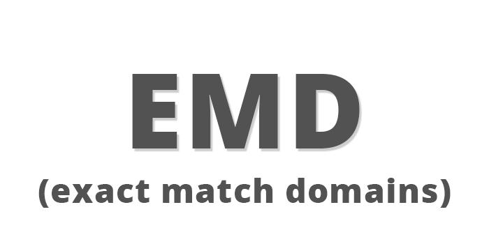 EMD update