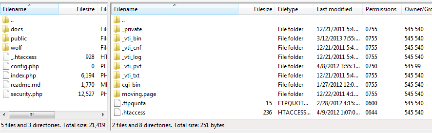 FTP the files to your server