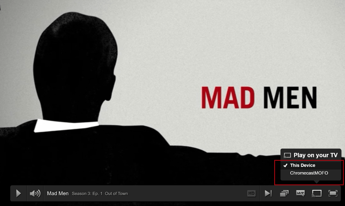 mad men chromecast