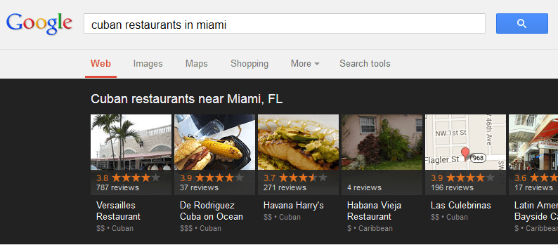 cuban restaurants near miami