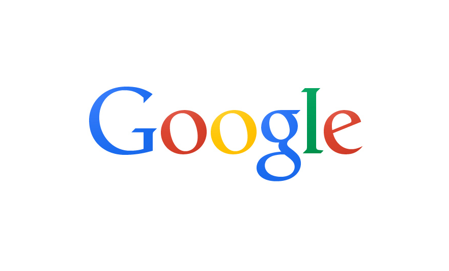 google flat logo
