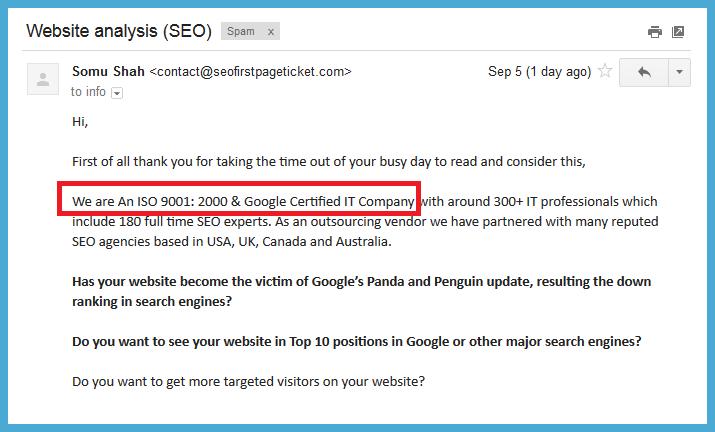 iso google certified