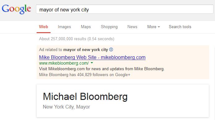 mayor of new york city