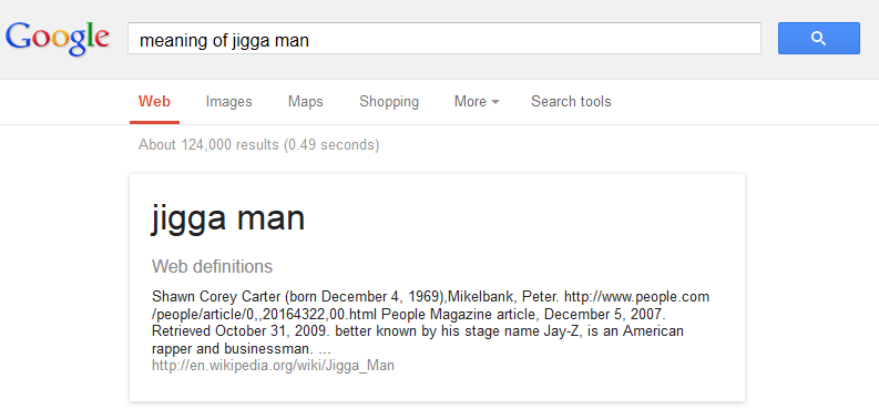 meaning of jigga man