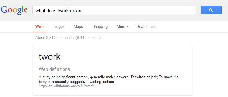 what does twerk mean