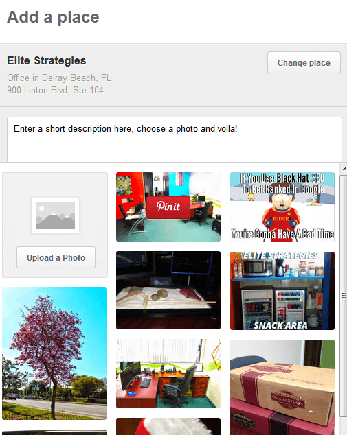 pinterest place board