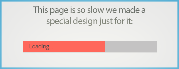 page speed so slow