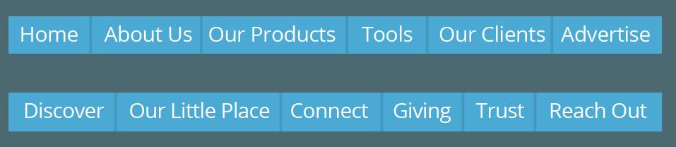 menu usability