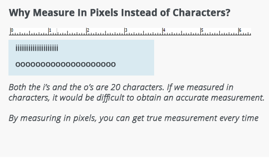 meta description pixels vs characters