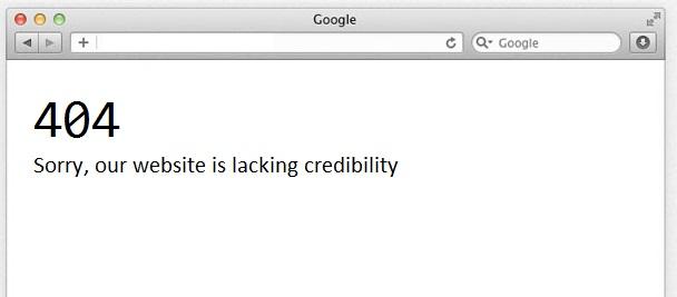 404-lacking-credibility