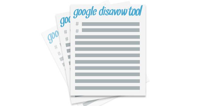 google disavow